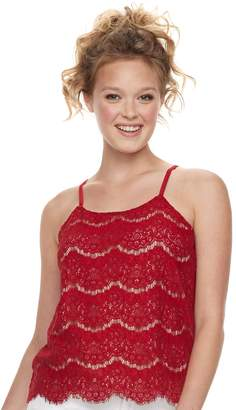 Love, Fire Love Fire Juniors' Lace Cami