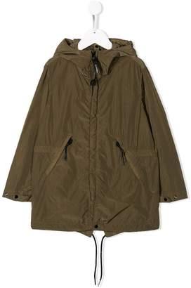 C.P. Company Kids hooded rain jacket
