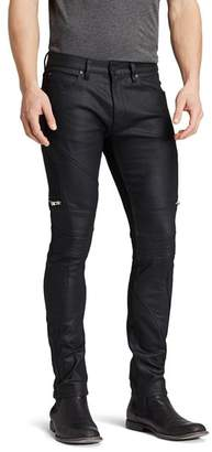 HUGO Jeans - 45 Moto Slim Fit in Black
