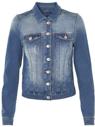 Cream Mia Knit Denim Jacket