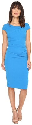 Adrianna Papell - Cowl Side Rusched Sheath Dress Women's Dress $98 thestylecure.com