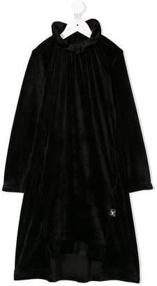 Nununu velvet midi dress