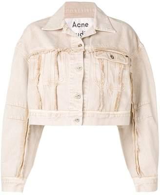 Acne Studios cropped denim jacket