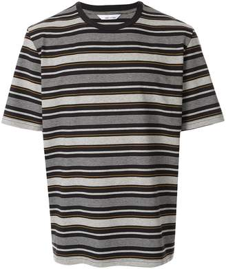 Band Of Outsiders multi stripe T-shirt