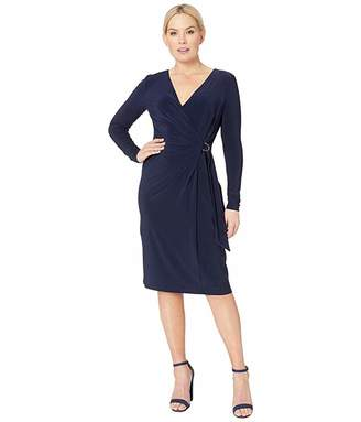 Lauren Ralph Lauren 1T Matte Jersey Casondra Long Sleeve Day Dress