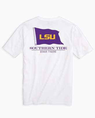 Southern Tide Gameday Nautical Flags T-shirt - Louisiana State University