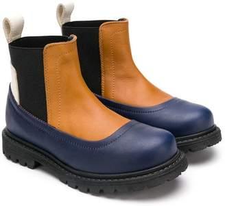 Marni slip-on panelled boots
