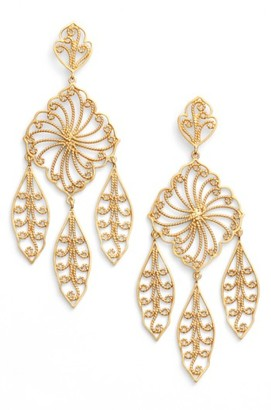 Women's Argento Vivo Drop Earrings $98 thestylecure.com