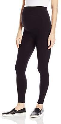 Loving Moments by Leading Lady Women's Maternity Legging with Built in Back Support Belly Band