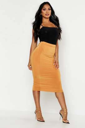 boohoo Double Up Midi Skirt