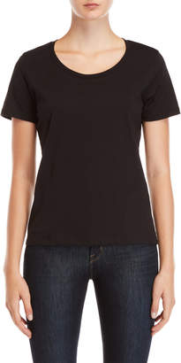 Monrow Black Relaxed Tee