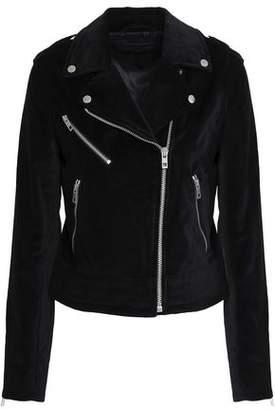 Rag & Bone Cotton-Velvet Biker Jacket