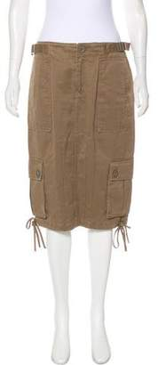 Marc by Marc Jacobs Knee-Length Cargo Skirt