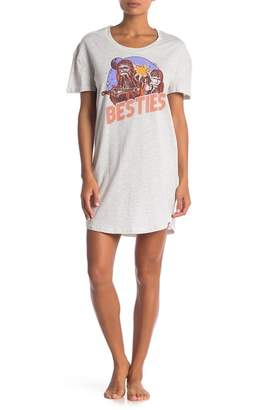 Star Wars Retrospective Co. Besties Sleep Shirt
