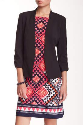 Eliza J 3/4 Length Sleeve Blazer Cover-Up $78 thestylecure.com