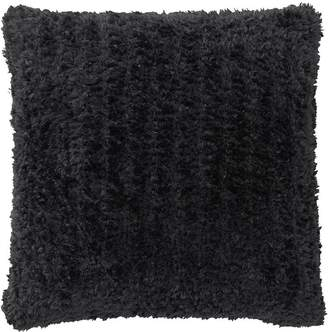 Pottery Barn Knitted Faux Fur Pillow Covers