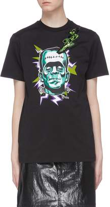 Prada 'Frankenstein' graphic print T-shirt