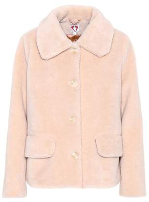 CLYDE Shrimps faux-fur jacket