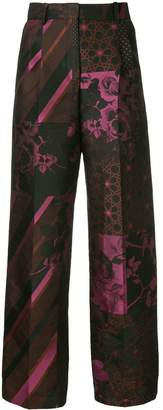 Stine Goya multi-print trousers