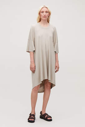 Cos OVERSIZED JERSEY T-SHIRT DRESS