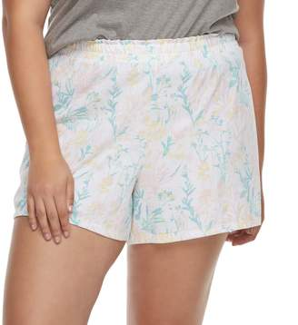 Apt. 9 Plus Size Pajama Shorts