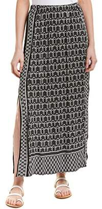 Max Studio Women's Maxi Side Slit Skirt