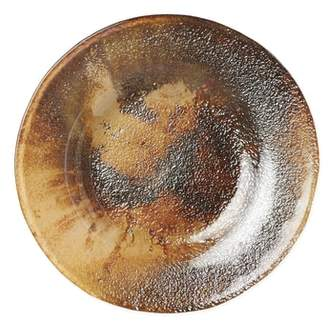 Vietri Earth Glass Salad Plate
