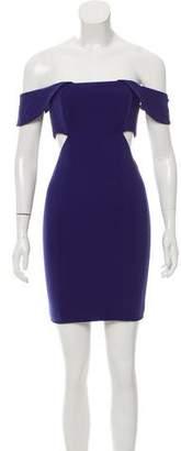 Jay Godfrey Cutout Mini Dress w/ Tags