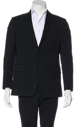 Pierre Balmain Tonal Striped Wool Blazer