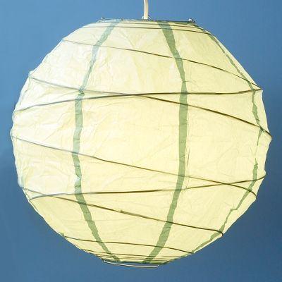 Blue Maru Round Paper Lantern