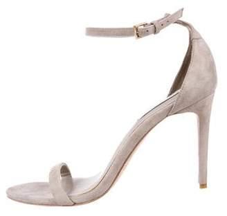 Rachel Zoe Suede Ankle-Strap Sandals