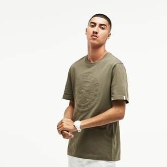 Lacoste Unisex LIVE T-Shirt With Oversized Badge