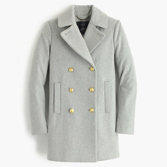 Wool melton peacoat $325 thestylecure.com