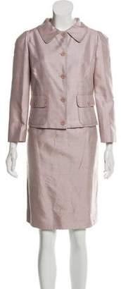 Dolce & Gabbana Knee-Length Patterned Skirt Set w/ Tags