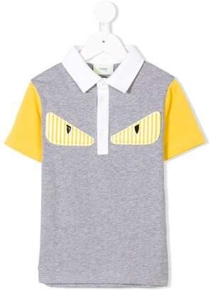 Fendi Monster polo shirt
