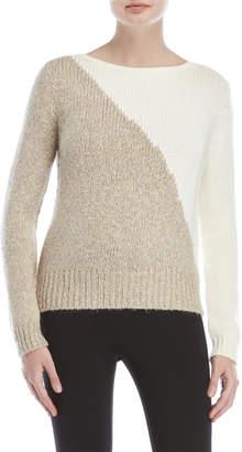 Raoul Diagonal Color Block Sweater