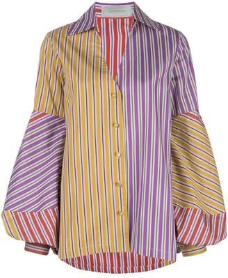 Silvia Tcherassi flare sleeve shirt