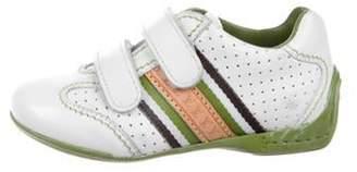 Louis Vuitton Boys' Monogram-Embellished Sneakers white Boys' Monogram-Embellished Sneakers