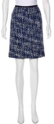 Peter Som Knee-Length Bouclé Skirt