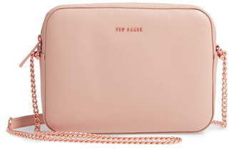 Ted Baker Judithh Bow Detail Leather Crossbody Bag