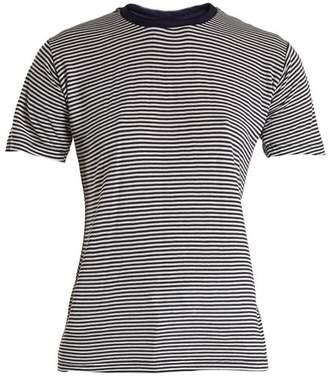 Eve Denim - Alexa Striped Jersey T Shirt - Womens - Blue Multi