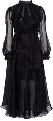 Maria Lucia Hohan Josie Printed Mousseline Dress