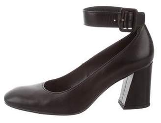 Stuart Weitzman Clara Ankle Strap Pumps
