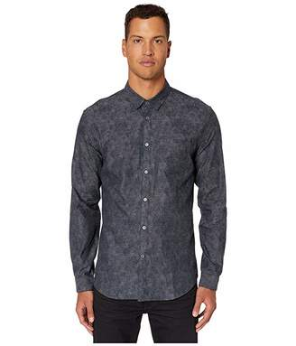 John Varvatos Collection Slim Fit Floral Print Button Down Shirt W662V3
