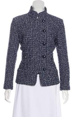 Chanel Fantasy Tweed Button-Up Jacket