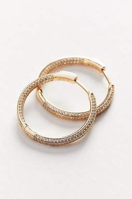 The M Jewelers Pavé Ravello Medium Hoop Earring