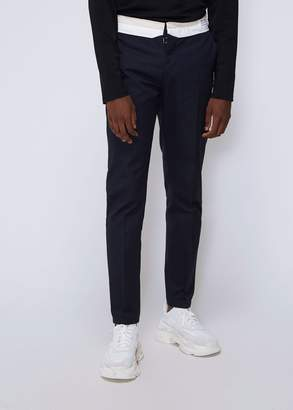 Maison Margiela Washed Chino Reversed Waistband Pant