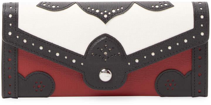 Longchamp Women's Long Leather Wallet