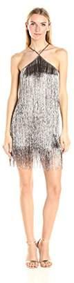 Rachel Zoe Women's Pierce Fringe Dress