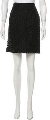 Simone Rocha Embroidered Mesh Skirt